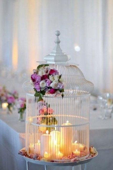 Jaulas Decoracion Bodas ~ Decoraci?n con Jaulas Floral  Fotos bodas net