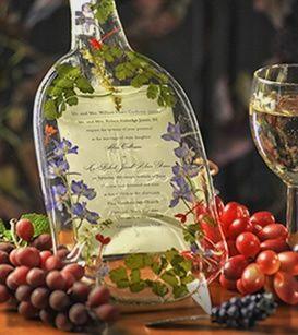 Wine Bottle Wedding Gift Idea : invitaciones boda tematica vino - Fotos bodas.net