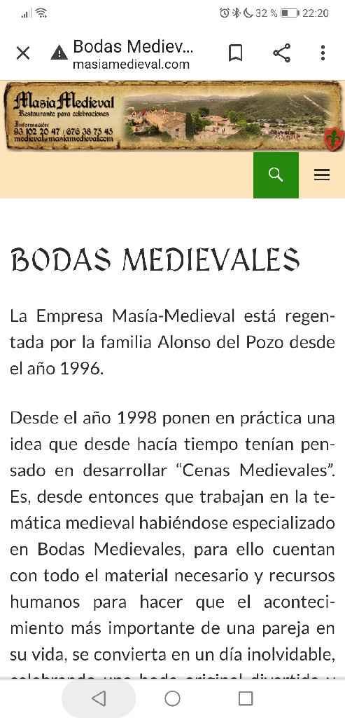 Boda medieval - 1