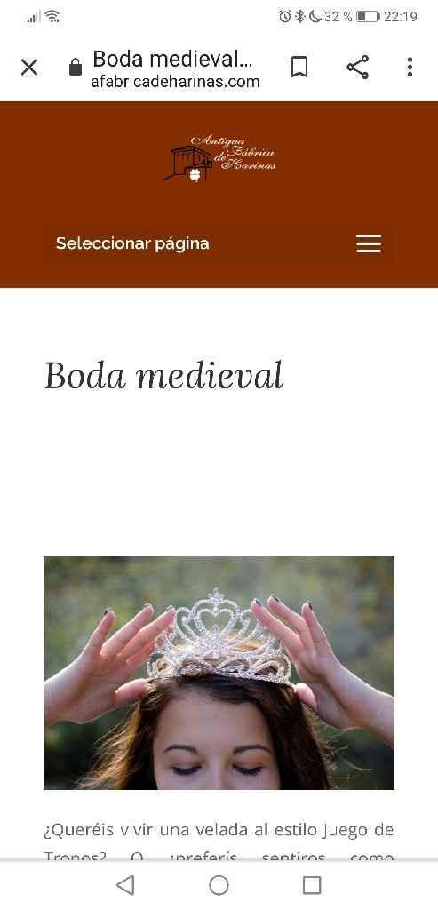 Boda medieval - 2