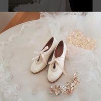 Zapatos de novia con cuña - 1