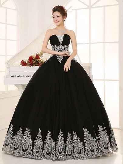 Color de vestido - 1