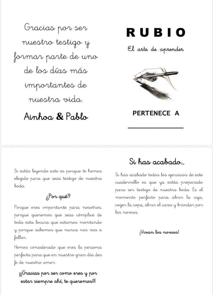 Cuadernos testigos - 1