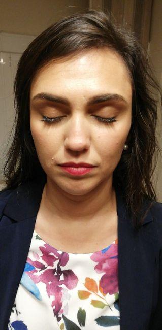 Prueba maquillaje 😍make up easy - 5