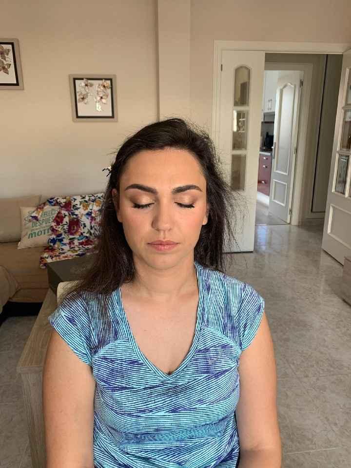 Prueba maquillaje 😍make up easy - 1