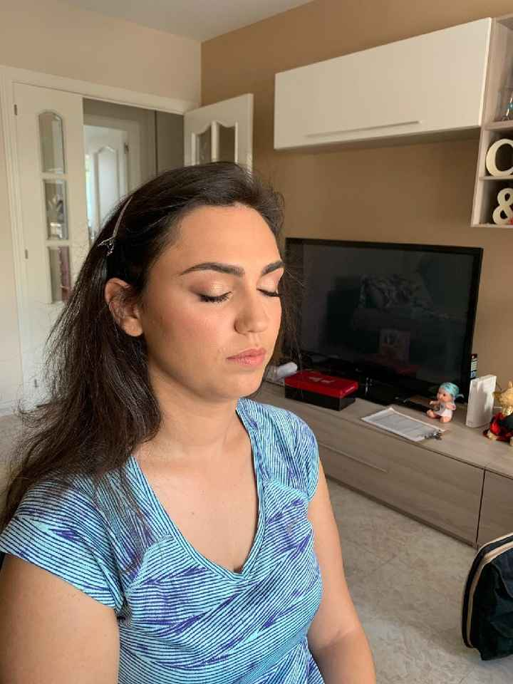 Prueba maquillaje 😍make up easy - 2
