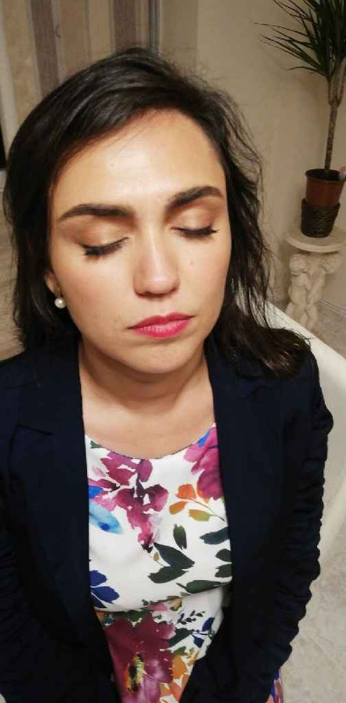 Prueba maquillaje 😍make up easy - 4