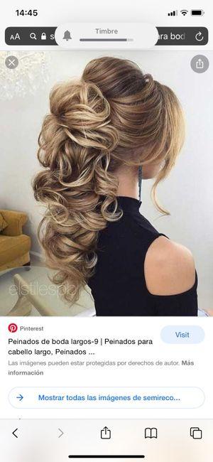 Peinado con vestido - 1