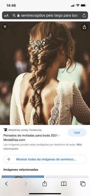 Peinado con vestido 9