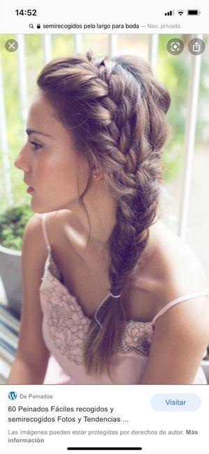 Peinado con vestido 6