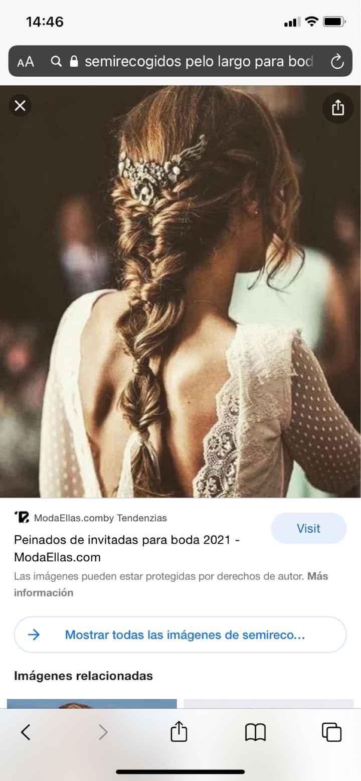 Peinado con vestido - 2