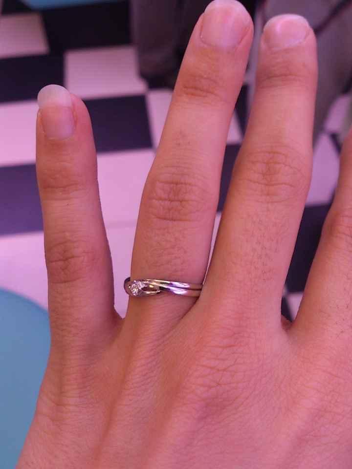 ¡¡Mi anillo de compromiso!!