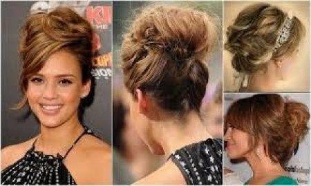 Novias con recogido alto manifestaos belleza foro - Como hacer peinado para boda ...