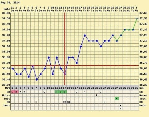 baja temperatura en el embarazo