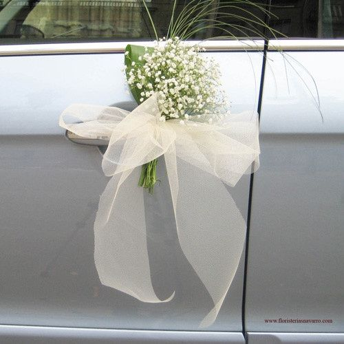 Decoraci n coche nupcial organizar una boda foro - Decoracion coche novia ...