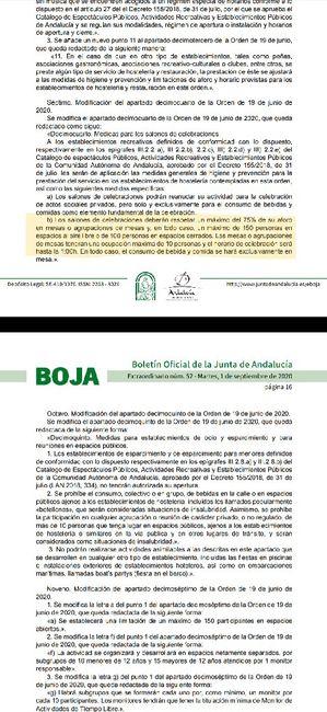 Nuevas medidas Andalucía 1