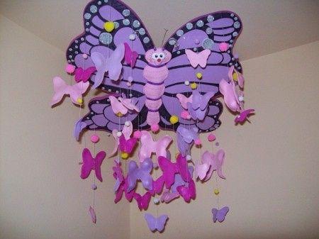 Tutorial mariposa goma eva y puzzle ni os con palitos de - Como hacer mariposas de goma eva ...