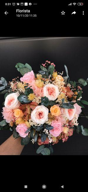 Ramo de flores preservadas 7