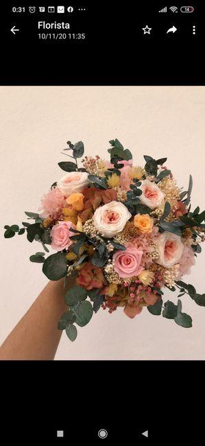 Ramo de flores preservadas 8