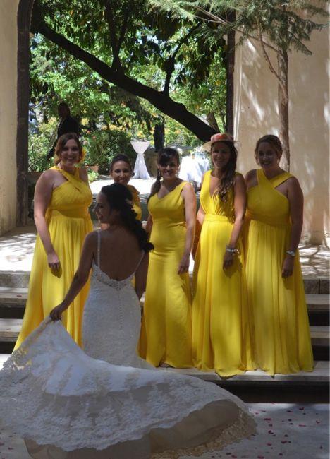 Color amarillo para las bodas - 1