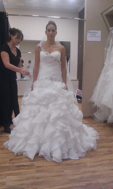 55639d4257 Nuestros vestidos de sedka novias - Alicante - Foro Bodas.net
