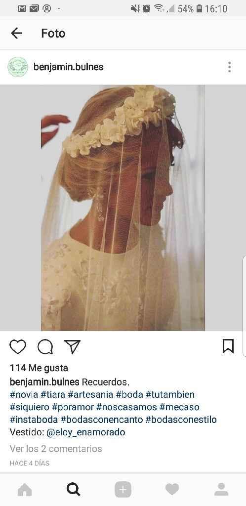 Que tocado le pondrías a este vestido ? - 1