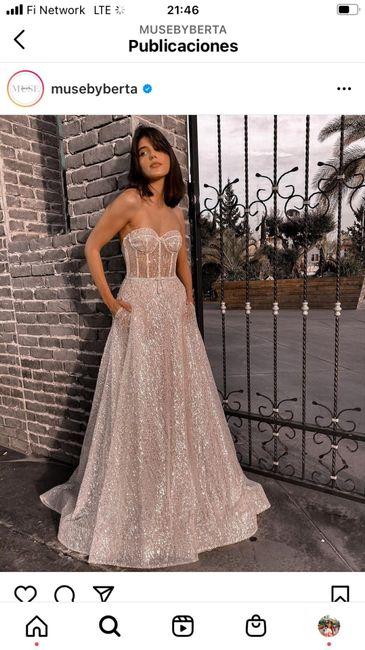 vestido de novia brillante 4