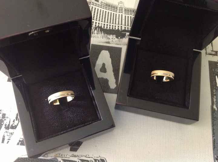 Ya han llegado los anillos