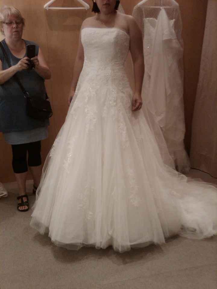 mi vestido...