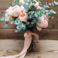 Rosa inglesa y verde