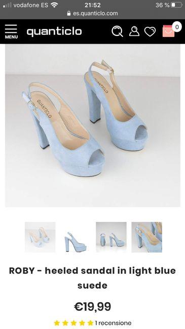 En busca y captura... de zapatos azules!! - 1