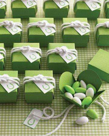 detalle en verde y blanco
