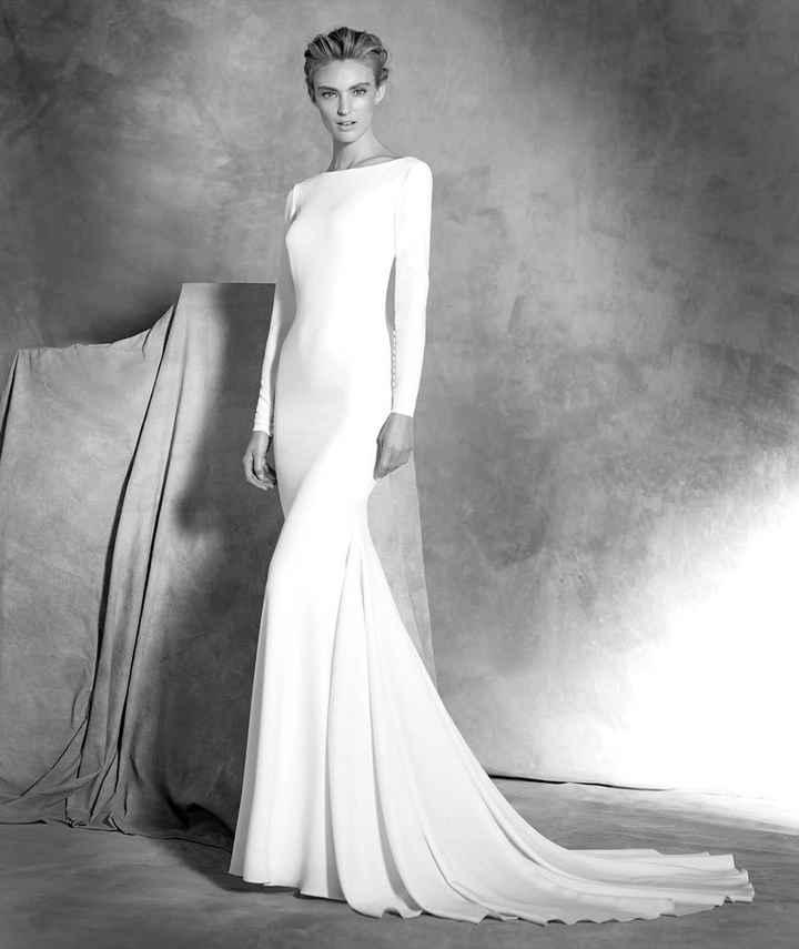 Vestido de manga larga 1