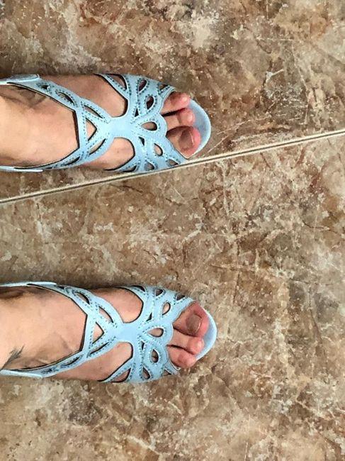 Dudas calzado novia - 2