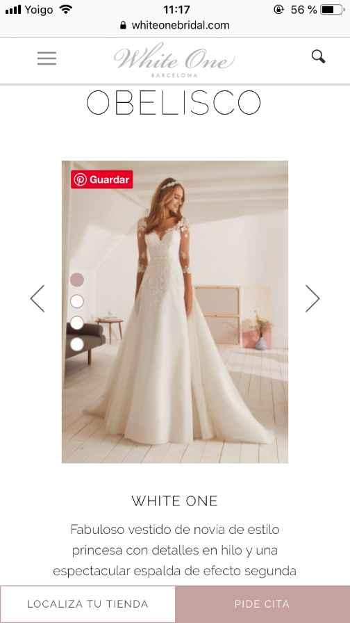 Precio vestido obelisco (white One) - 2