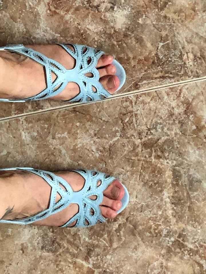 Quiero zapatos azules... - 1