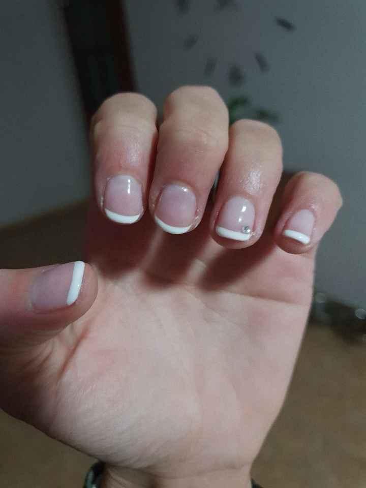 Mis uñas para el dia b!!!😍 - 1