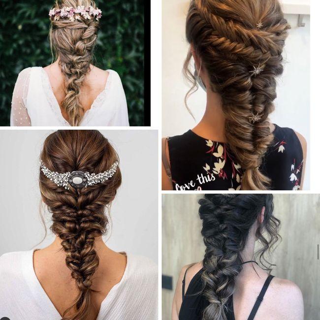 Qué peinado? 1, 2 o 3? 1