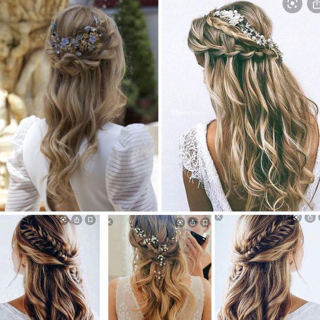 Qué peinado? 1, 2 o 3? 3