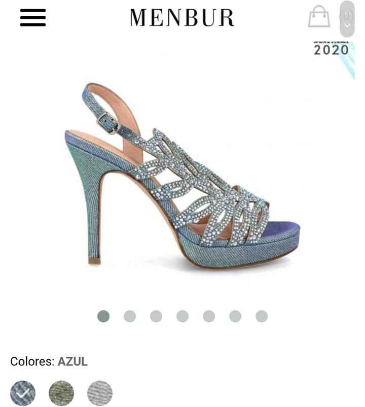 Zapatos de novia de colores 6