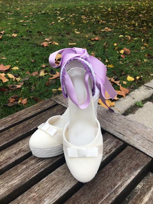 Mis zapatos de novia 1
