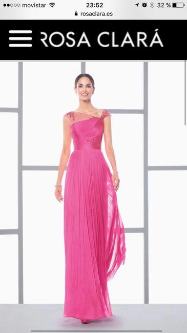 Vestido fiesta rosa clará - Foro Bodas.net
