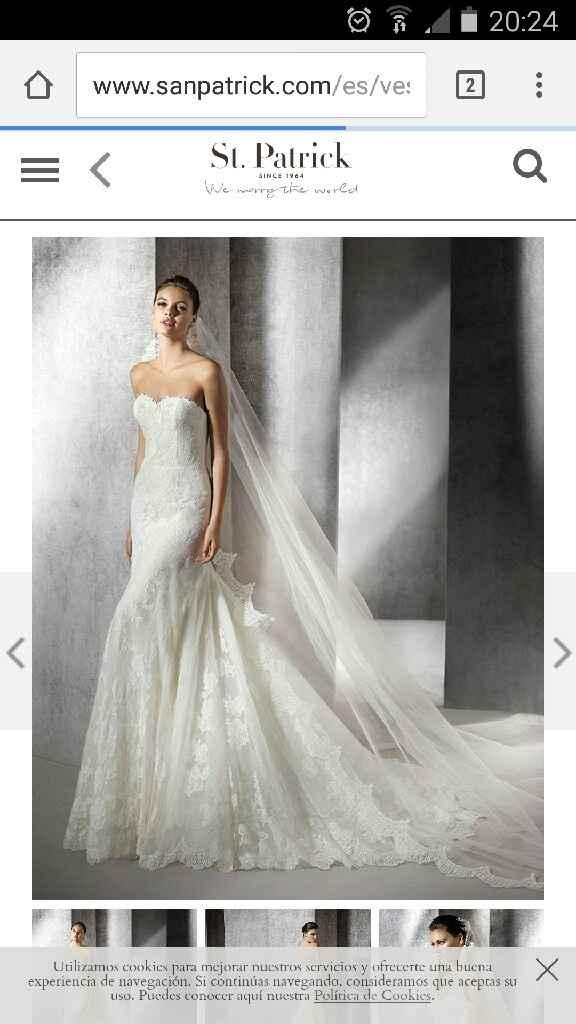 Ya tengo mi vestido!!! - 1