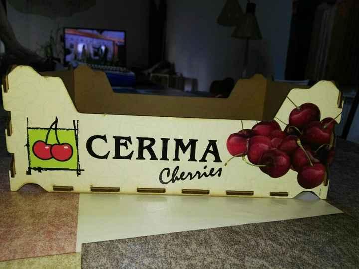 Ya tengo mis cajas de fruta! - 1