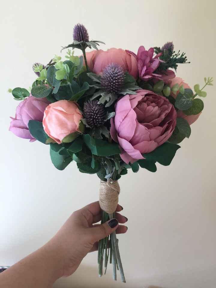Mi ramo de flores!! - 1