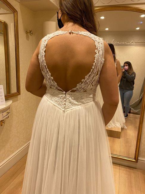 Problema vestido pronovias 2