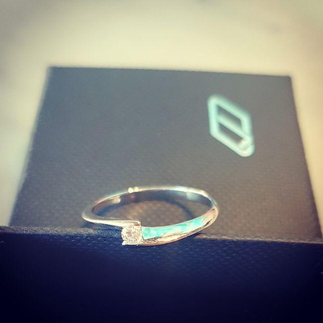 ¡Comparte una foto de tu anillo de pedida! 💍 11