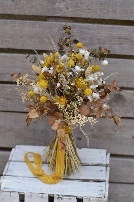 Ramo de flores secas ¿cuál os gusta más? - 1