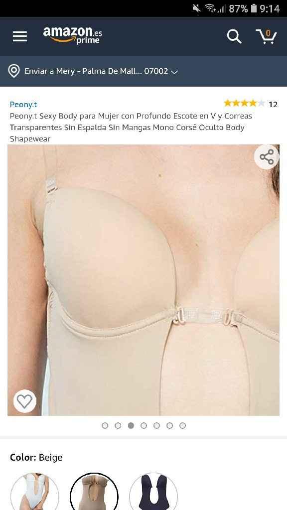 Body escote/espalda descubierta - 2