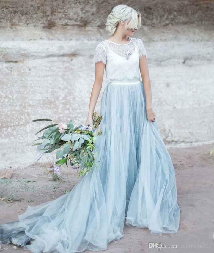 ¿Outfit de novia poco tradicional? - 2